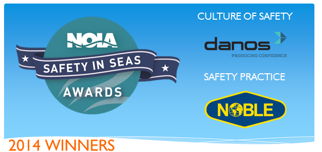 NOIA 2014 Safety in Seas Winners
